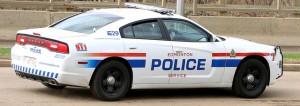 Edmonton Police Vehicle